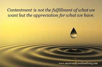 Thought of The Night- Contentment